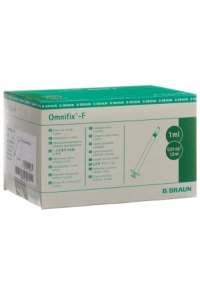 OMNIFIX-F Spritze solo 1ml LS Tuberku/Hep 100 Stk