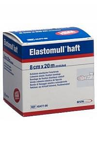 ELASTOMULL HAFT Gazebinde 20mx8cm weiss Rolle