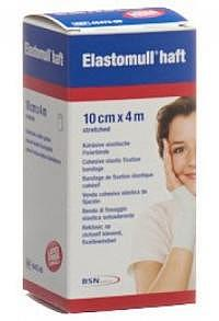 ELASTOMULL HAFT Gazebinde 4mx10cm weiss Rolle