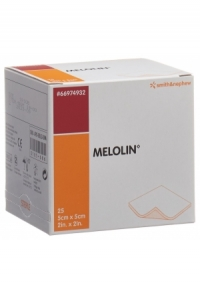 MELOLIN Wundkompressen 5x5cm steril 25 Btl
