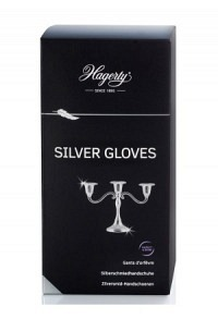 HAGERTY Silver Gloves Silver Handschuh 1 Paar