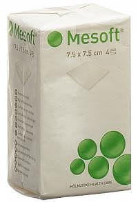 DUO-Pack MESOFT NW Kompressen 7.5x7.5cm unst 100 Stk