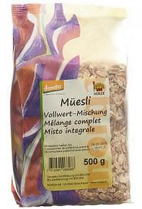 MORGA Müesli Vollwert-Mischung Knospe Btl 500 g