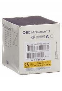 BD MICROLANCE 3 Inj Kanüle 0.30x13mm gelb 100 Stk