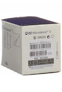 BD MICROLANCE 3 Inj Kanüle 0.40x19mm grau 100 Stk