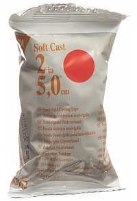 3M Scotchcast Softcast 5cmx3.65m rot