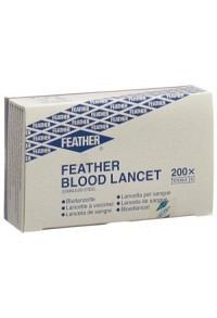 FEATHER Blutlanzetten steril 200 Stk