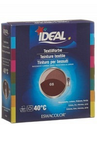 IDEAL MAXI Baumwolle Color No08 rotbraun