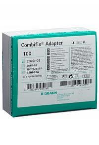 COMBIFIX Adapter Luer Lock weiblich/weib 100 Stk