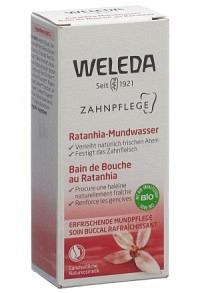 WELEDA Ratanhia Mundwasser konz Fl 50 ml