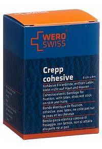 TRIO-Pack WERO SWISS Lux K-10 El Fixierbinde 4mx8cm weiss