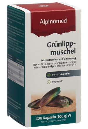Grünlippmuschel Kaps 400 mg 200 Stk