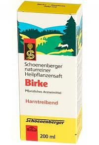SCHOENENBERGER Birken Heilpflanzensaft 200 ml