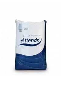 ATTENDS Esslatz 69x35cm Papier/Plastik 250 Stk