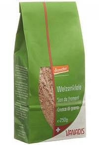VANADIS Weizenkleie Demeter Btl 250 g