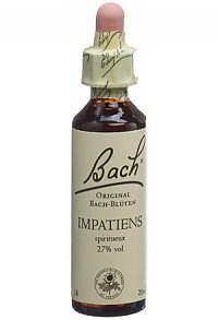 BACH-BLÜTEN Original Impatiens No18 20 ml