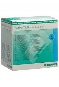 ASKINA Soft Wundverband 5x7.5cm steril 50 Stk
