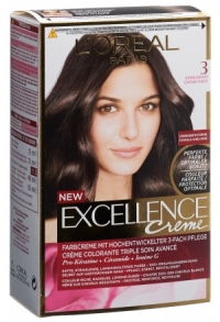 EXCELLENCE Creme Triple Prot 3 dunkelbraun