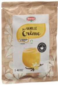 MORGA BIO Creme Plv Vanille Curcuma Bt..