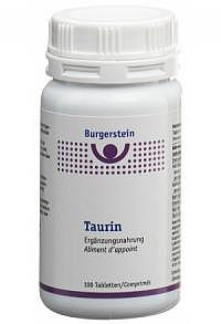 BURGERSTEIN Taurin Tabl 100 Stk