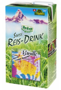 DUO-Pack SOYANA Rice Drink Vanille Bio 1 lt