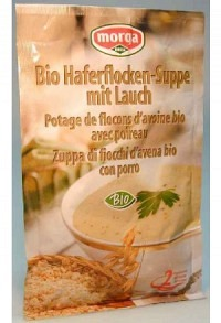 MORGA Haferflocken Suppe mit Lauch Bio 45 g