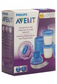 Muttermilch Becher Set