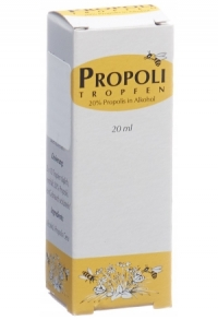 PROPOLI Tropfen 20 % in Alkohol 20 ml