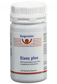 BURGERSTEIN Eisen plus Kaps Ds 150 Stk