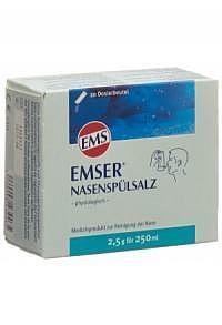 EMSER Nasenspülsalz 20 Btl 2.5 g