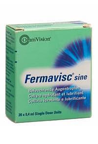 FERMAVISC sine Gtt Opht 20 Monodos 0.4 ml