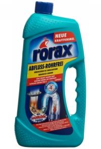 DUO-Pack RORAX Abflussreiniger liq Fl 1000 ml
