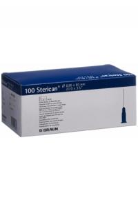 STERICAN Nadel 23G 0.60x80mm blau Neu Luer 100 Stk
