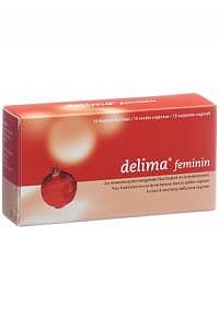 DELIMA FEMININ Vag Supp 15 Stk