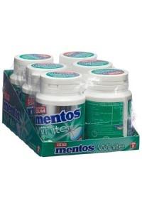 MENTOS Gum White Green Mint 6 x 75 g