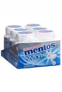 MENTOS Gum White Sweetmint 6 x 75 g