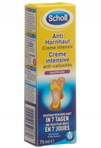 SCHOLL Anti-Hornhaut Creme Intensiv Tb 75 ml