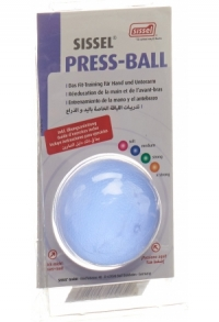 SISSEL Press Ball medium blau