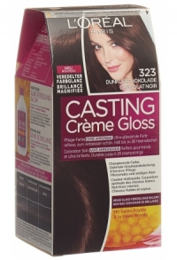 Creme Gloss 323 dunkle schokolade
