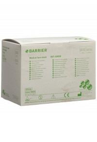BARRIER OP Maske Spezial TypII grün Bindeb 60 Stk
