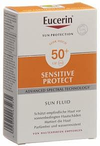 EUCERIN SUN Sensitive Protect Fluid LSF50+ 50 ml