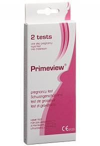 PRIMEVIEW hCG midstream pregnancy test mini 2 Stk