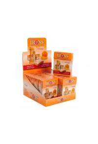 IBONS Ingwer Bonbon Display Orange 12x60g