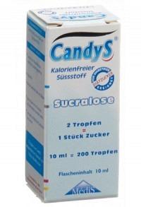 CANDYS Zuckerersatz Fl 10 ml