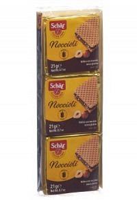 SCHÄR Noccioli Snack 3er Pack glutenfrei 63 g