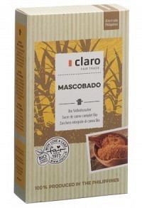 CLARO Mascobado Vollrohrzucker Bio 500 g