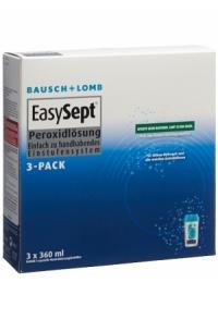 BAUSCH LOMB EasySept Peroxide 3 Pack 3 x 360 ml