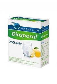 MAGNESIUM DIASPORAL Activ Brausetabl zitro 20 Stk