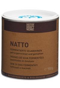 NATURKRAFTWERKE Natto Sojabohnen gemahlen 150 g
