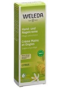 WELEDA Citrus Hand und Nagelcreme 50 ml